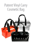 Vinyl Carry Cosmetic Bag