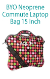 BYO Neoprene Commuter Laptop Bag