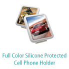 Color Silicone Protected Cell Phone Holder