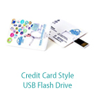 Credit Card Style USB Flash Drive