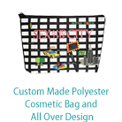 Custom Made Polyester Cosmetic Bag and All Over Design