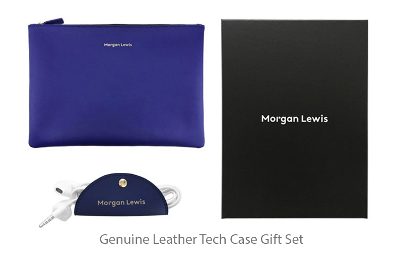 Blog Images Genuine Leather Tech Case Gift Set