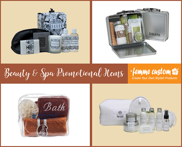 Popular beauty and spa promotional items for sale