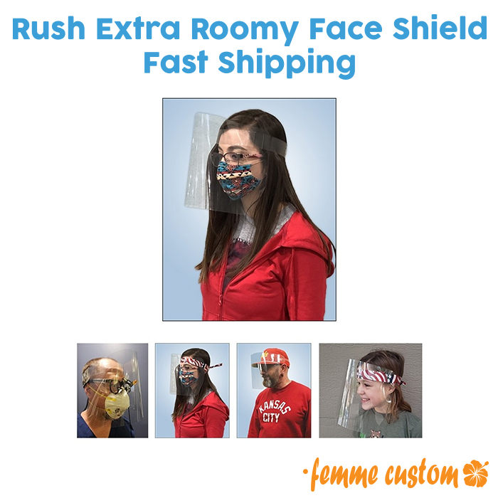 bulk wholesale PPE face shield covering fast shipping