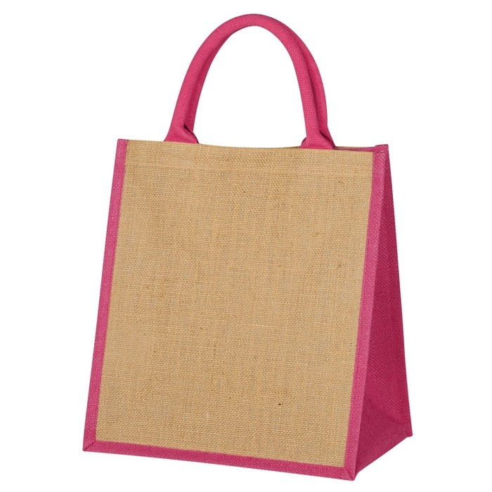 Reusable Durable Jute Gift Bag Ii Custom Logo Imprint