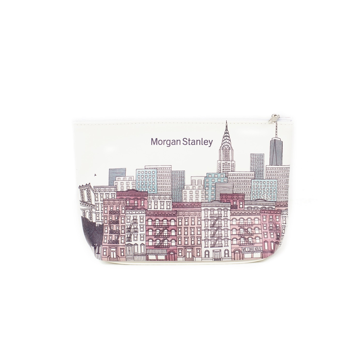 Full Color Sublimated Leatherette Gusseted Pouch