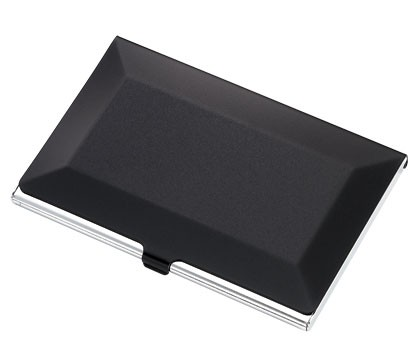 Black and Silver Card Case
