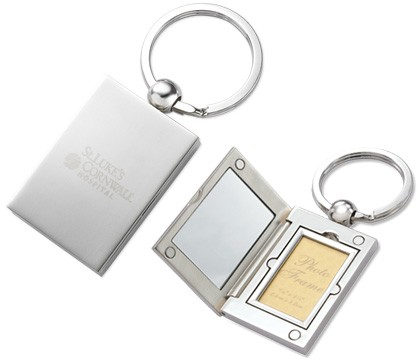 Photo Frame and Mirror Key Chain