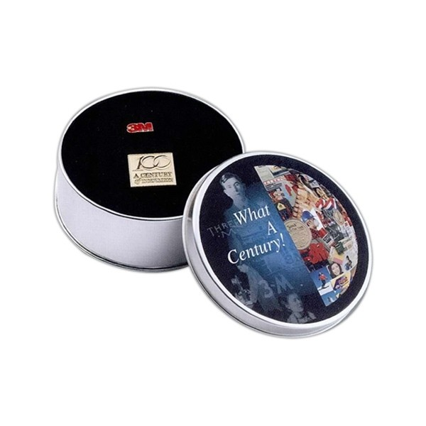 4 Inch Photo Dome Stainless Steel Tin