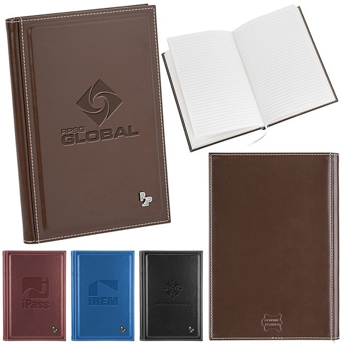 Sophisticated Oxford Leather Bound Journal book