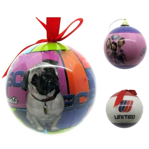 Full Color High Gloss Shatter Proof Ornaments