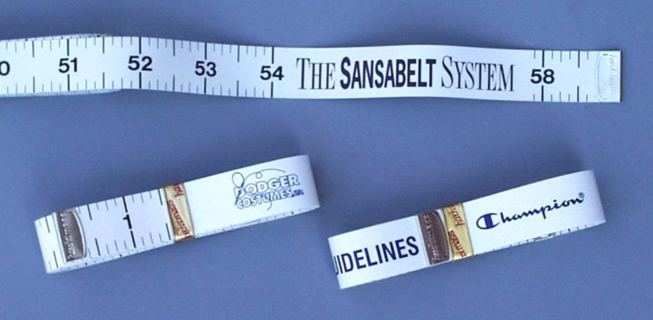 Dual-Sided Seamstress Tape Measure