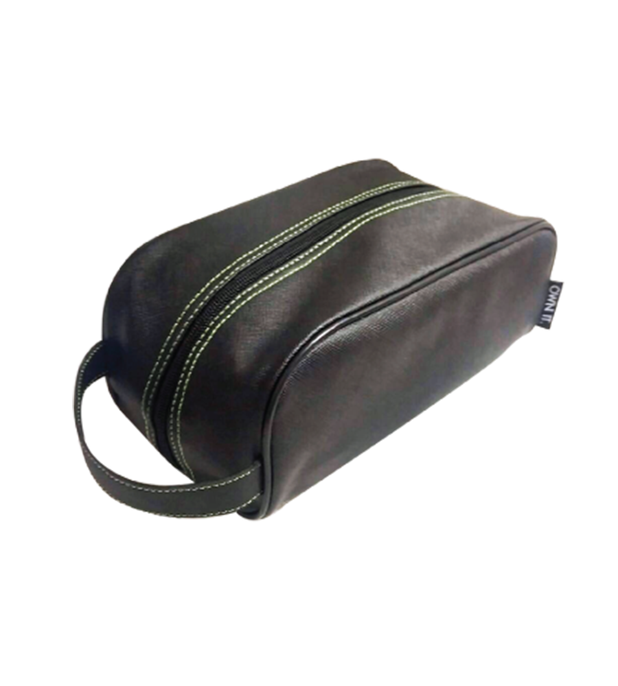 Quality Leatherette Dopp Kit Case with Handle