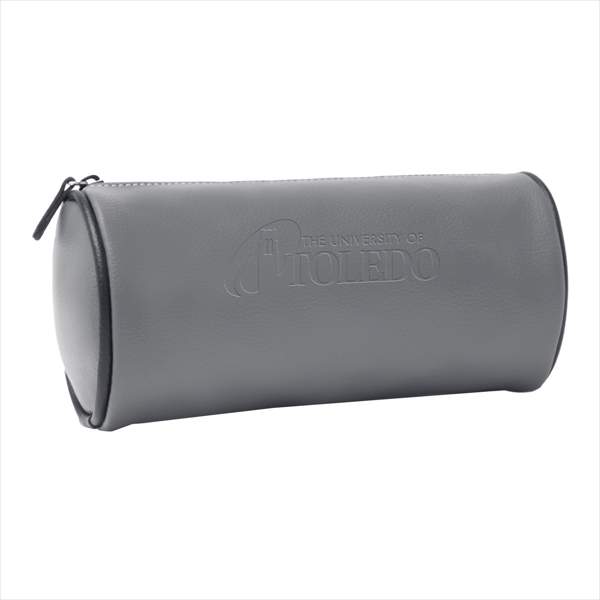 Lisette Cylinder Barrel Cosmetic Bag