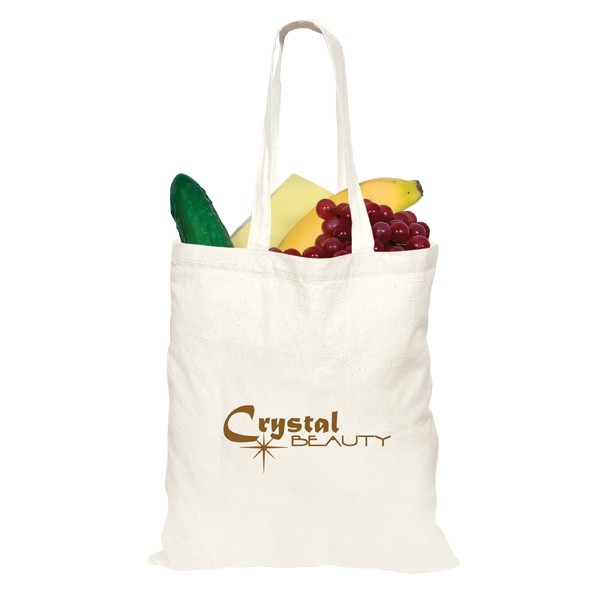 4.5 Oz Lightweight Natural Color Cotton Tote