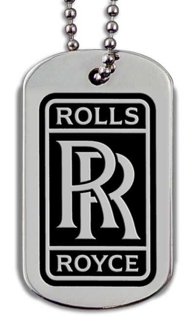 Dog Tags Etched Stainless Steel