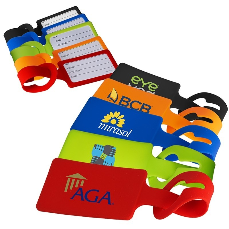Colorplay Silicone Luggage Tag