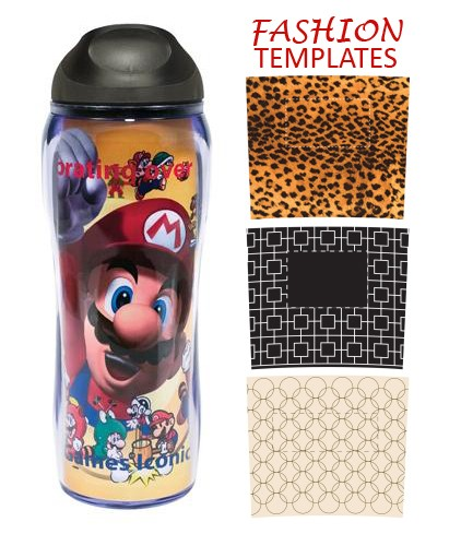 Full Color Fashion Tumbler