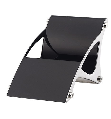 Black iPhone/Nano and Business Card Holder