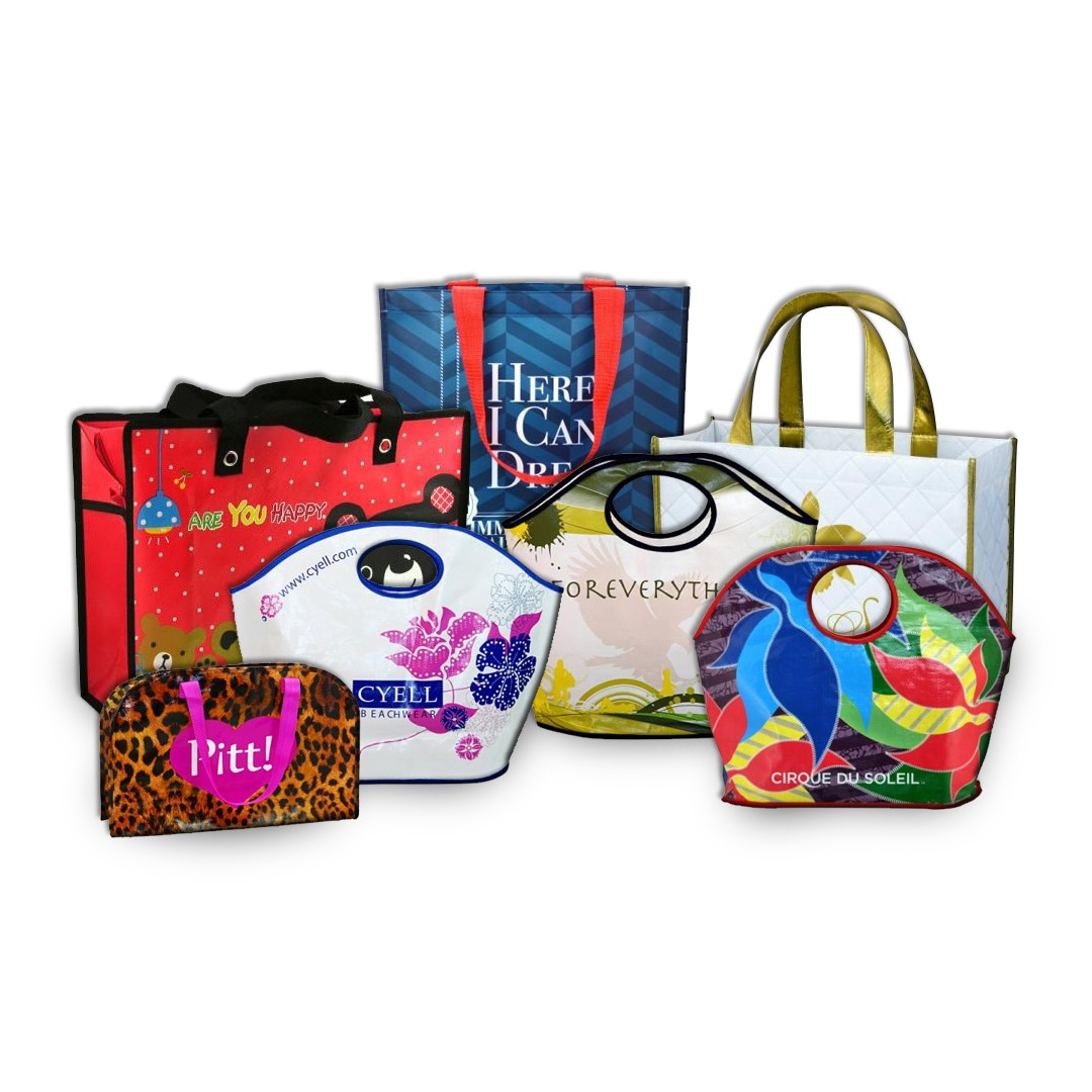 Custom Made Designer Laminated PolyPro Bags