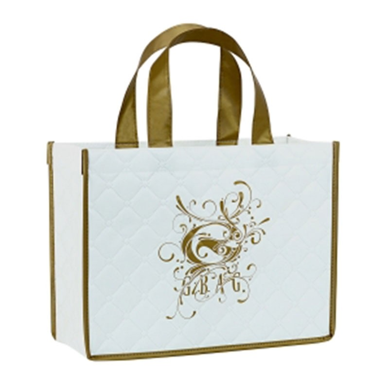 Quality Laminated Quilted 200g Polypro Tote