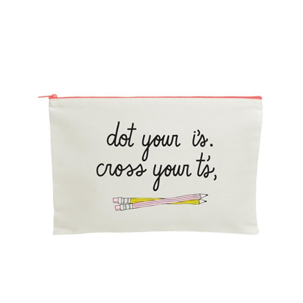 Extra Large Canvas Pouch