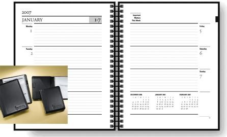 Recycled Planner Weekly
