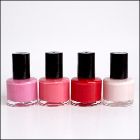 Custom 4 Piece Set of Mini Nail Polish Bottles