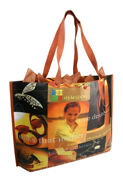 Custom Made Sublimated PolyPro Tote Bag