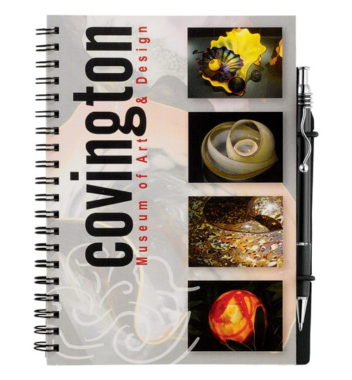 Full Color Heavyweight Cover 5 x 7 Pocket Notebook