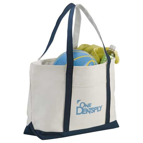Heavy Weight Zippered Boat Tote