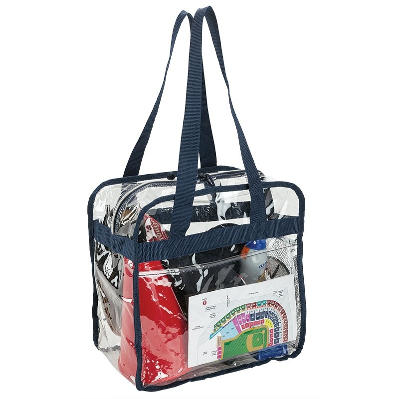Game Day Clear PVC Tote