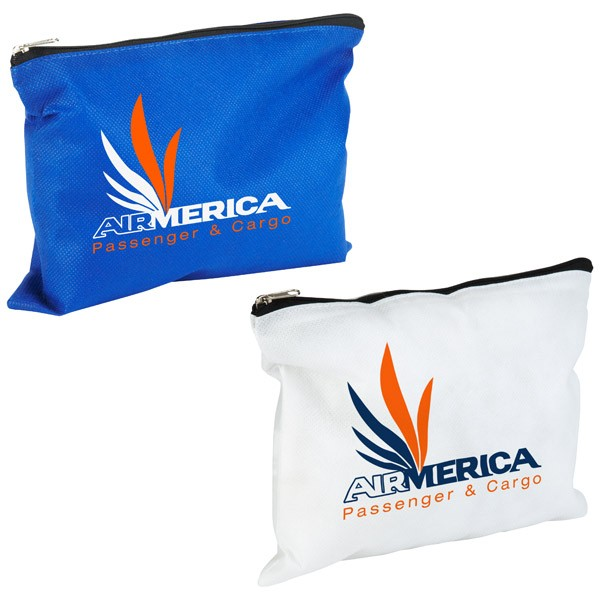 NonWoven PolyPro Zippered Pouch