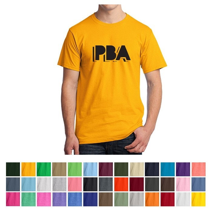 Fruit of the Loom® HD Cotton Jersey Preshrunk Colored T-Shirt - LT-WGT