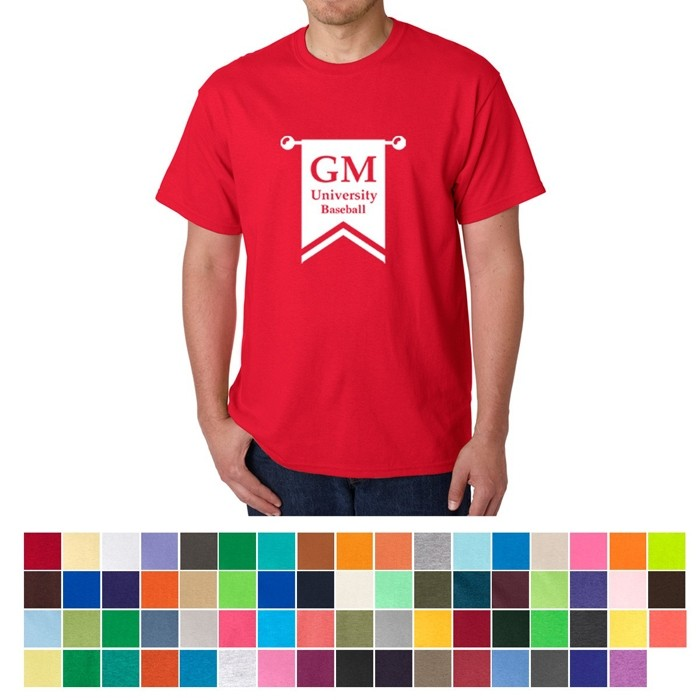 Gildan® Heavy Cotton Colored T-Shirt - HVY-WGT