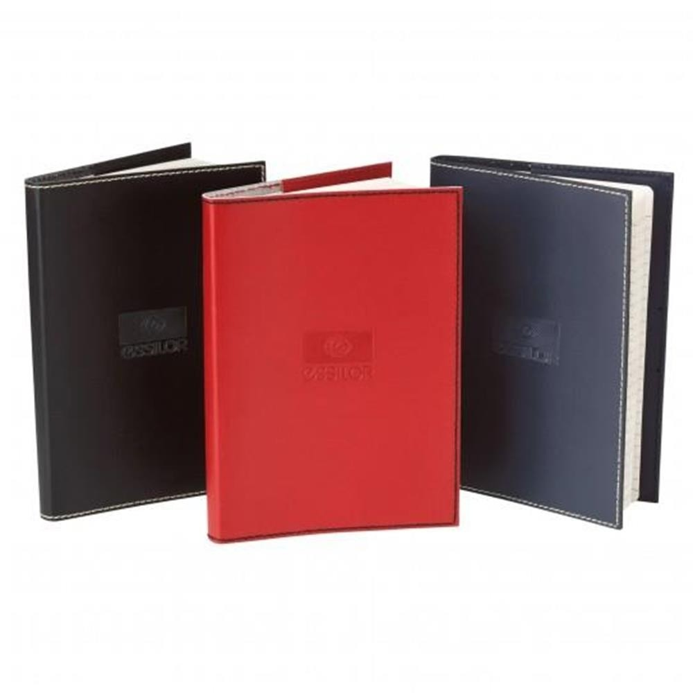 Soft Leather Accent Stitched Journal