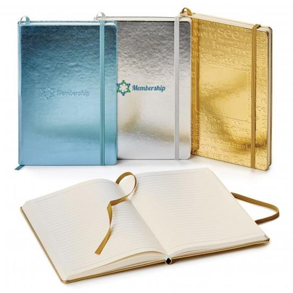 Melody Metallic Cover 5.5 x 8.25 Journal