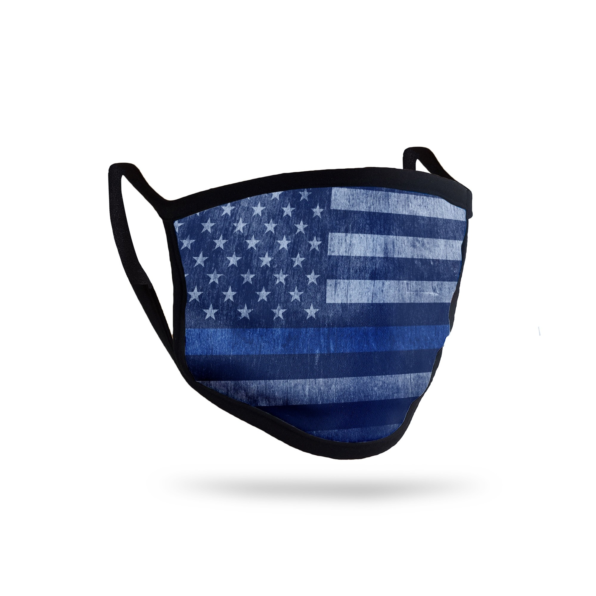 Full Color Printed Triple Layer Protective Face Mask - Made in USA