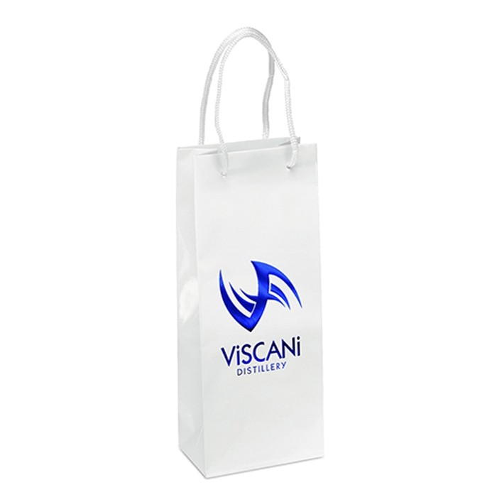 Premium Weight Glossy Retail Shopper Tote Vertical 13 Tall