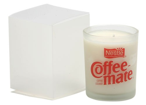 3 Oz Frosted Votive Candle in Gift Box - PMOD (Premium Modern)