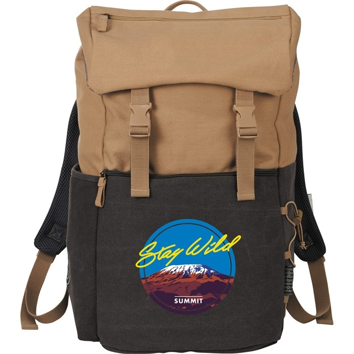 Field & Co. Branded 15 In Computer 2 Tone Backpack