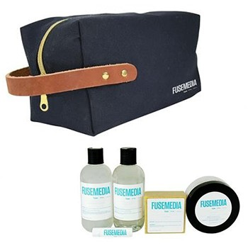 Canvas and Leather Spa Kit for Both Men and Women