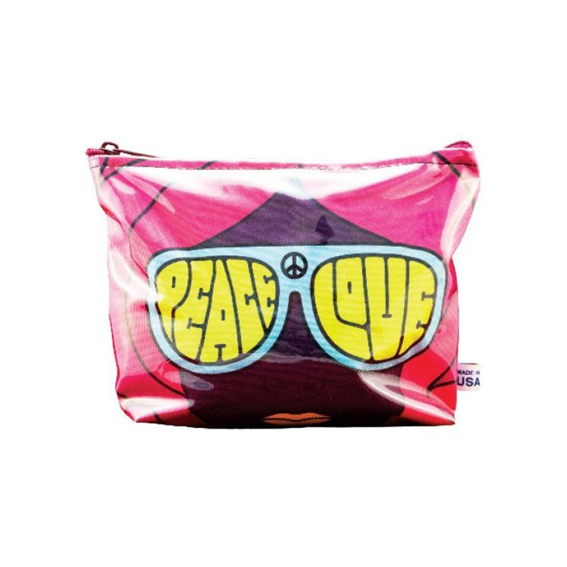 Full Color Sublimated Poly Pouch with Gusset