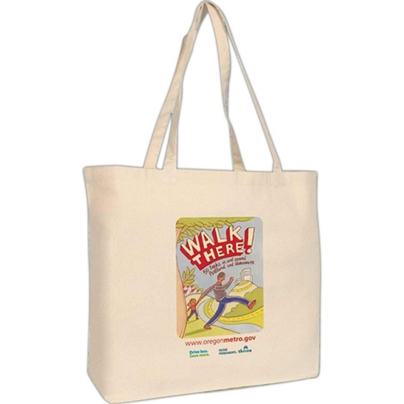Strong Hold Sturdy 10 Oz Cotton Shoulder Tote