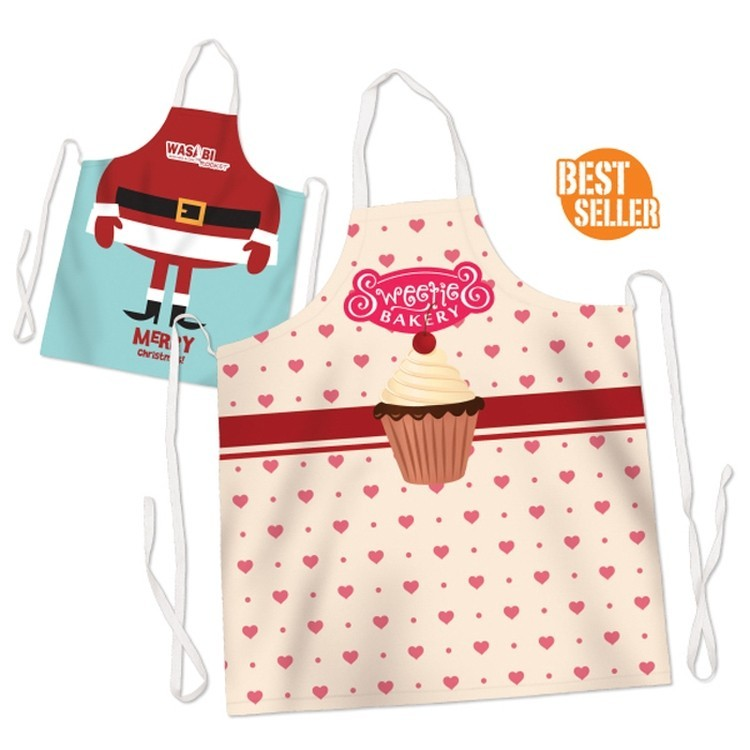 Full Color Sublimated Allover Imprint Apron