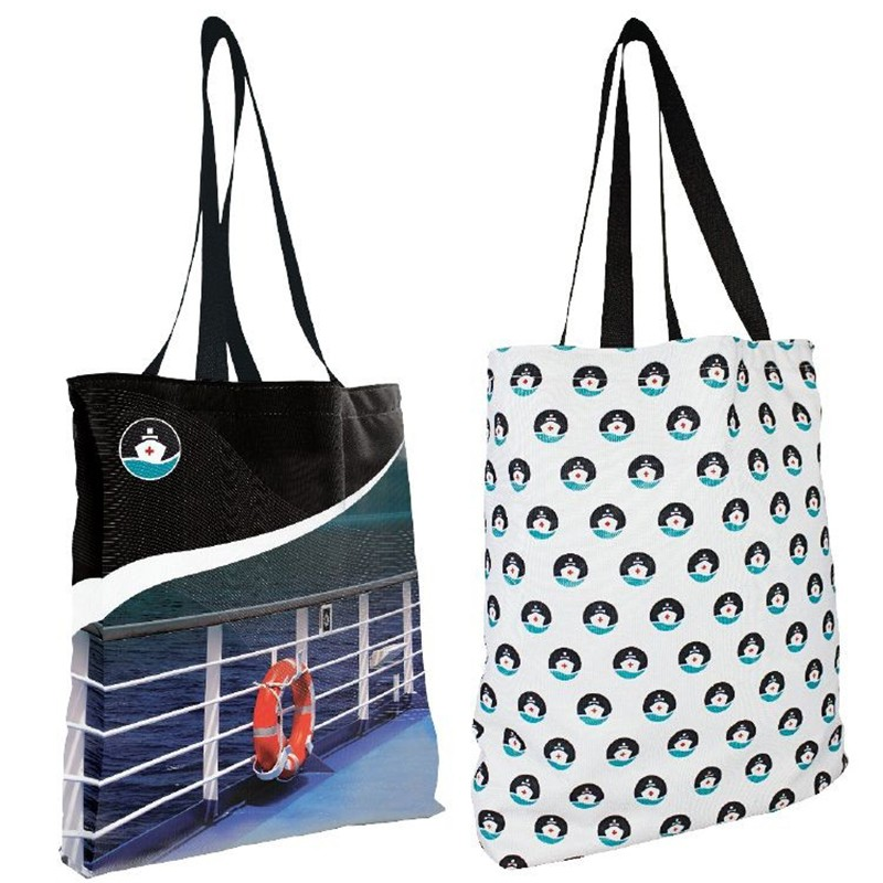 Reversible Full Color Shoulder Tote Bag