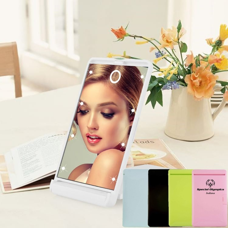 LED Compact Mirror with Dimmable Setting