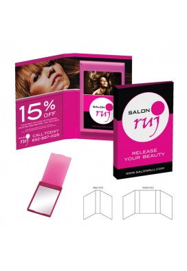 Promotional Booklet Mirror Gift Giveaway