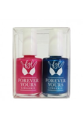 Set of 2 Nail Polish in Clear Box