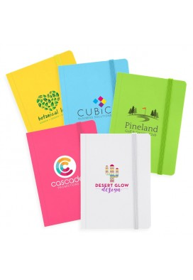 Full Color CMYK Bright Tropical Colors Small Journal 4x5.5